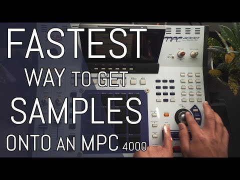 How to use an external HD with the MPC 4000 // MPC 4000 Beginner Tutorial