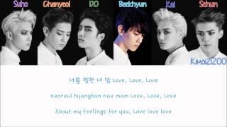 EXO-K - Love, Love, Love [Hangul/Romanization/English] Color & Picture Coded HD