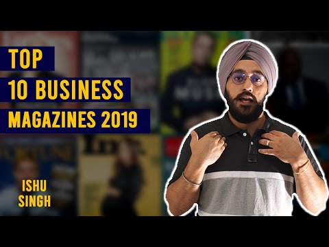 Top 10 Business Magazines 2019