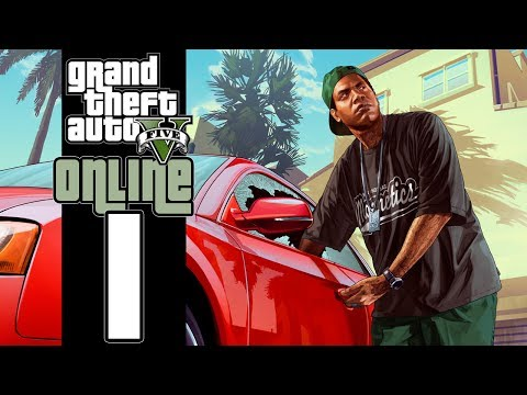 Let's Play GTA V Online (GTA 5) - EP01 - Vinny Chops