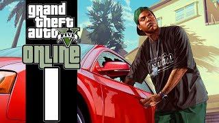 Let's Play GTA V Online (GTA 5) - EP01 - Vinny Chops