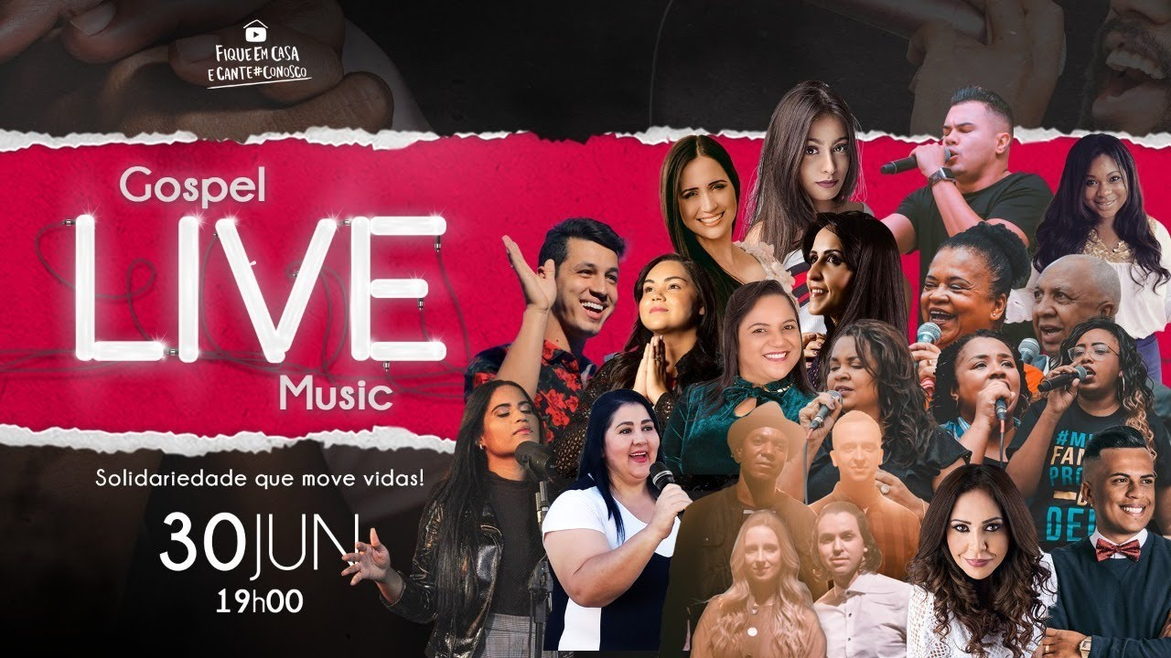 GOSPEL CHANNEL - GOSPEL LIVE MUSIC | #FiqueEmCasa e Cante #Conosco
