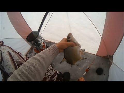 Подлёдная ловля леща. Иркутское водохранилище. - YouTube