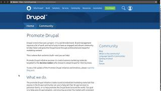Drupal Association: Get Involved in the Promote Drupal Initiative thumbnail