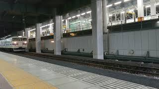 415系100番台+1500番台8両博多駅発車