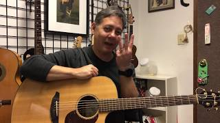 Charleston Guitar Lessons - Understanding Triads - 1 of 4