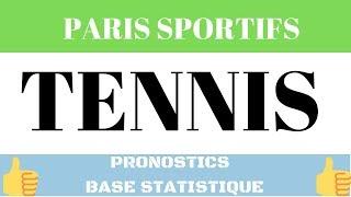 Paris Sportifs : Prono Tennis Top Confiance Base Statistique