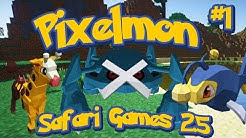 Pixelmon 2.5 Launch Safari Games (Training Phase) - The #Dream Team w/LittleLizardGaming