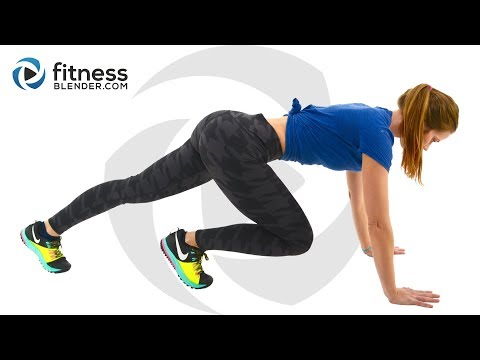 HIIT Cardio and Butt and Thigh Workout - HIIT and Strength Workout