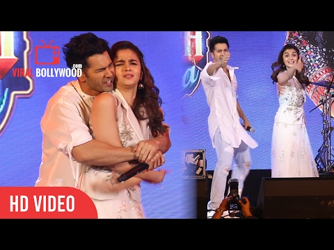 Varun Dhawan And Alia Bhatt Visit The Asiatic Library Steps | Kala Ghoda Arts Festival 2017