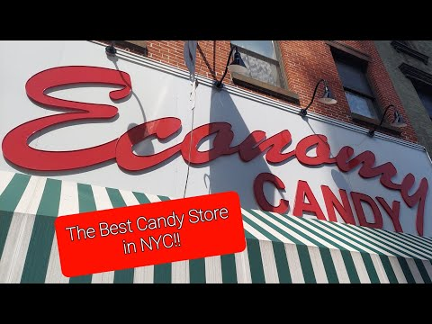 The best candy store in New York City!La mejor tienda de dulce en NYC. Economy Candy.