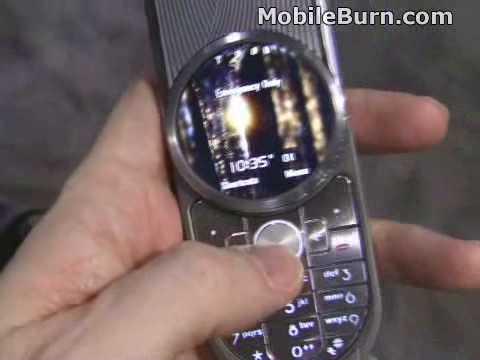 Motorola AURA demo at CES 2009
