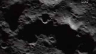 NASA LCROSS Mission Moon Impact Video