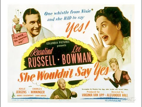 "Комедия  Она не скажет ""да""  (1945)  Rosalind Russell Lee Bowman Adele Jergens"
