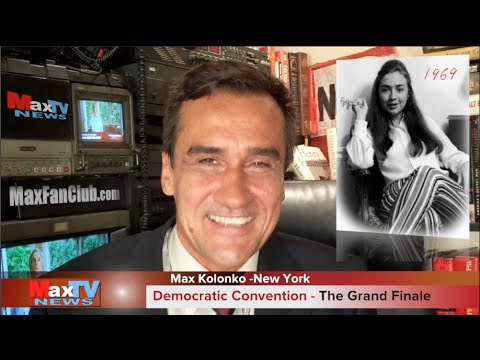 DNC Convention Finale - Max Kolonko tells it like it is Wybory w USA