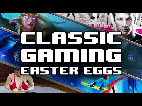 The Best Easter Eggs in Classic Video Games