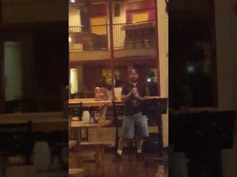Daniel karaoke @DB 10.14.16 Amish Paradise