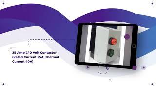 Buy Contactors 12v, 24v, 240v and 415v Products - AGM Electrical