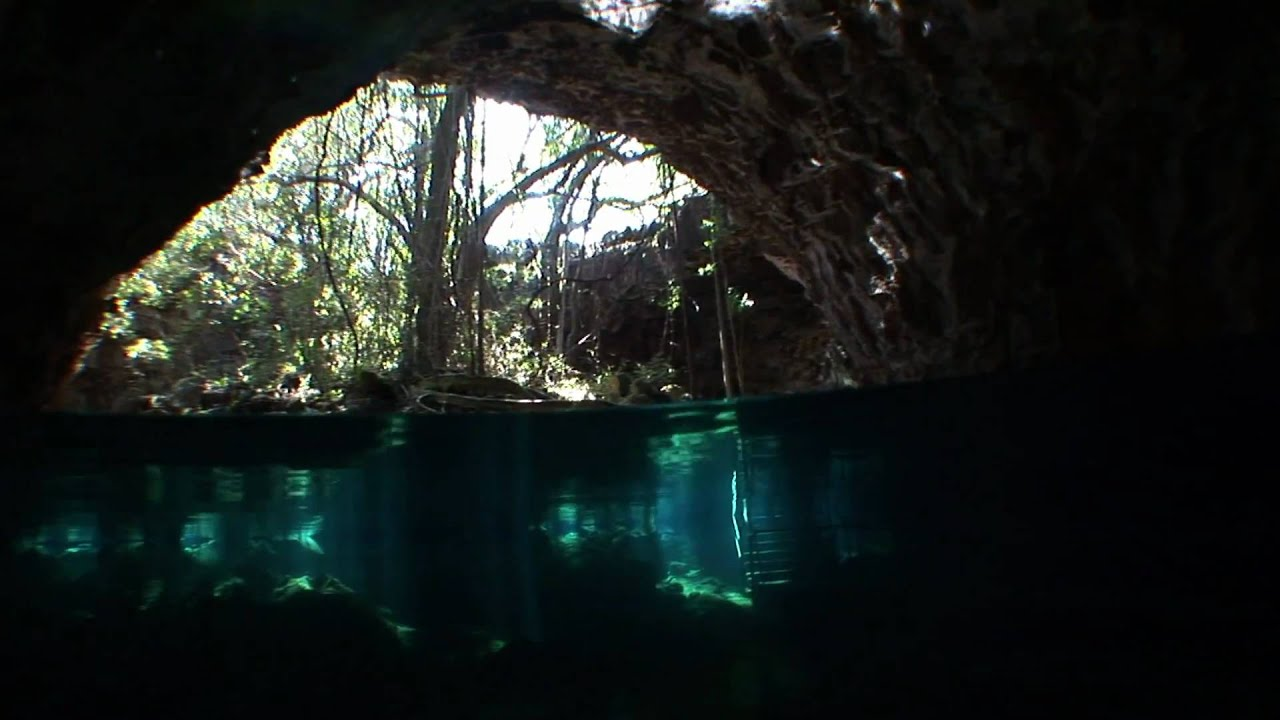 Undara Lava Tubes Underwater - YouTube