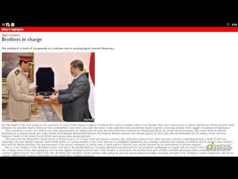 The Economist video demo