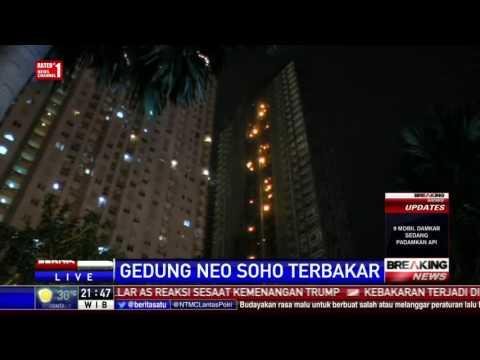 Breaking News: Gedung Neo Soho Terbakar