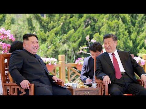 الرئيس الصيني يشيد باجتماع كيم وترامب  - نشر قبل 2 ساعة