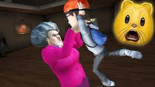 HELLO NEIGHBOR'S SISTER?! | Scary Teacher 3D (Fan Choice FRIGHTday)