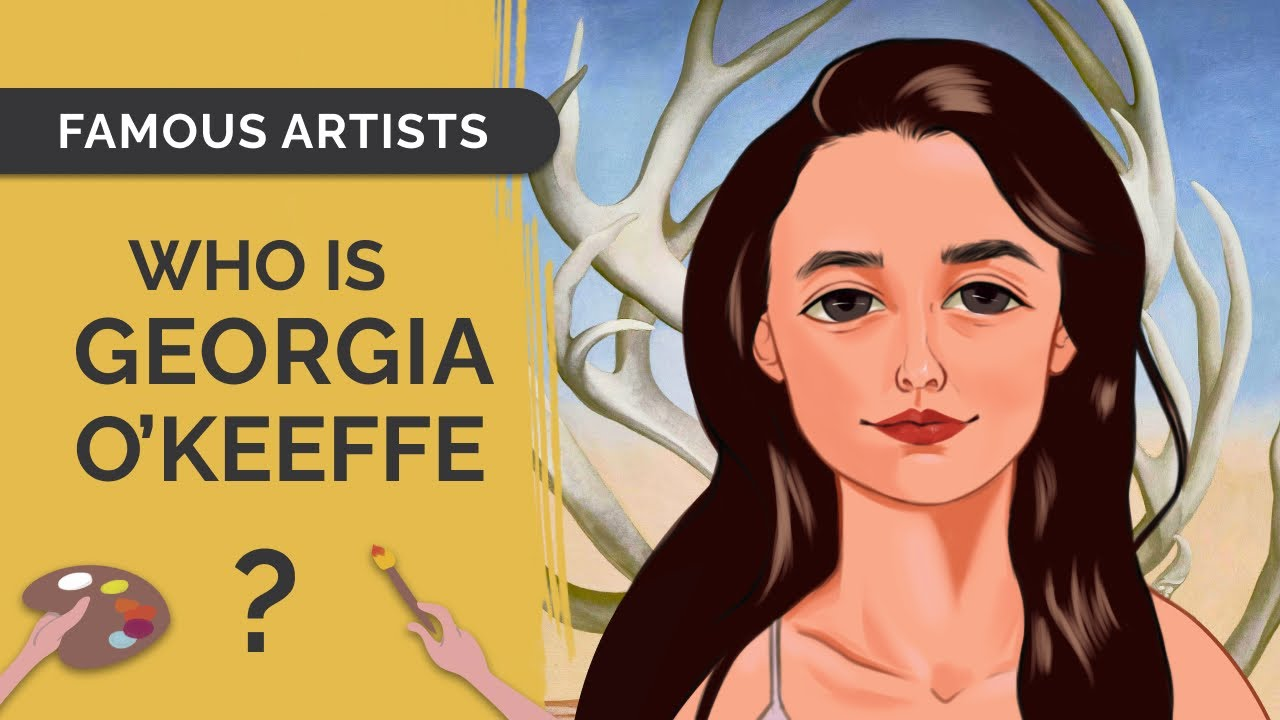 GEORGIA O'KEEFFE: Draw & Learn Art History with an Anime Twist!