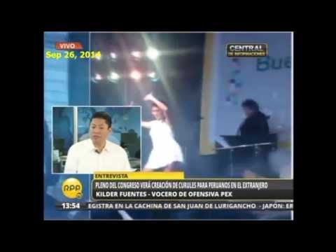 Kilder Fuentes - Distrito Electoral para Peruanos en el Extranjero - RPP TV Sep 26, 2014