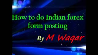 How to Do Forum Posting on Indian forex forum