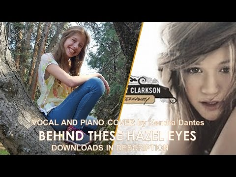 Behind These Hazel Eyes Kelly Clarkson Cover By Kendra Dantes