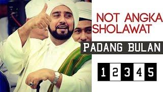 Not Angka Sholawat Padang Bulan - Habib Syech Syekhermania