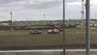 Figure 8 racing in Osage @ 7pm 6/14/19 Stock Heat 1