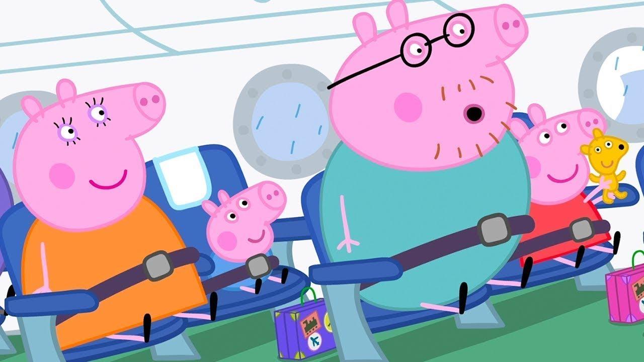 Peppa Fliegt in den Urlaub ✈️ Cartoons für Kinder | Peppa Wutz Neue Folgen