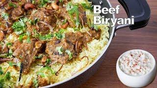 Beef Biryani Boneless | Beef Biryani Recipe | Beef Recipes | Rice Recipes