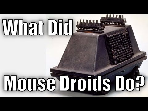 Thumbnail: What did Mouse Droids do?