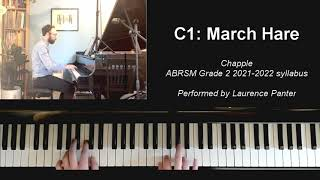 C:1 March Hare (ABRSM Grade 2 piano 2021-2022)