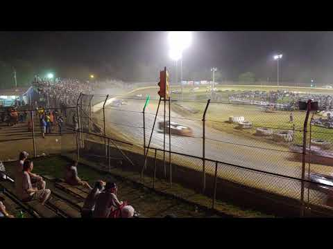 Super late models 50 lap feature from Florence speedway 6/29/19 with no yellow flags one great race