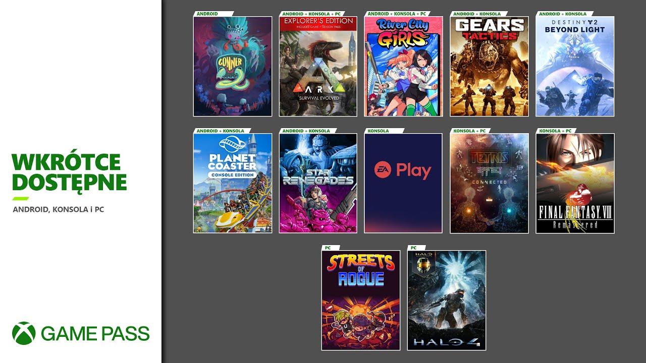 Xbox Game Pass - Listopad 2020   Xbox XY Extra