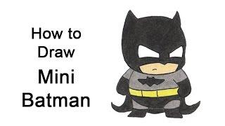 How to Draw Batman (Mini / Chibi)