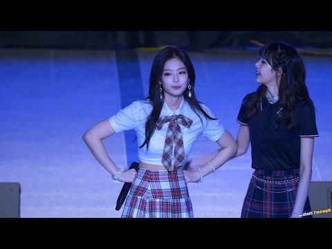 180524 제니 Jennie 블랙핑크 BLACKPINK 'STAY' @한양대 축제 4K 60P 직캠 by DaftTaengk