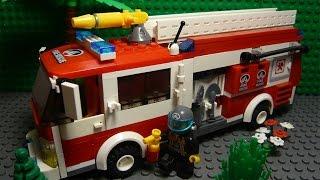 LEGO САМОДЕЛКА #24 | Пожарная машина / Fire truck(Как построить пожарную машину из лего? Если вы восхитительный строитель и проектируете свой лего-город,..., 2016-05-09T00:44:05.000Z)