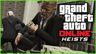 GTA 5 Heists - Pacific Standard BANK Heist Gameplay - FINAL HEIST! (GTA 5 Funny Moments)