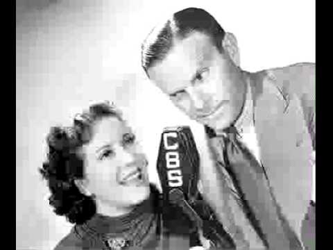 Burns & Allen radio show 5/29/47 Frances Langford / Vacation Plans