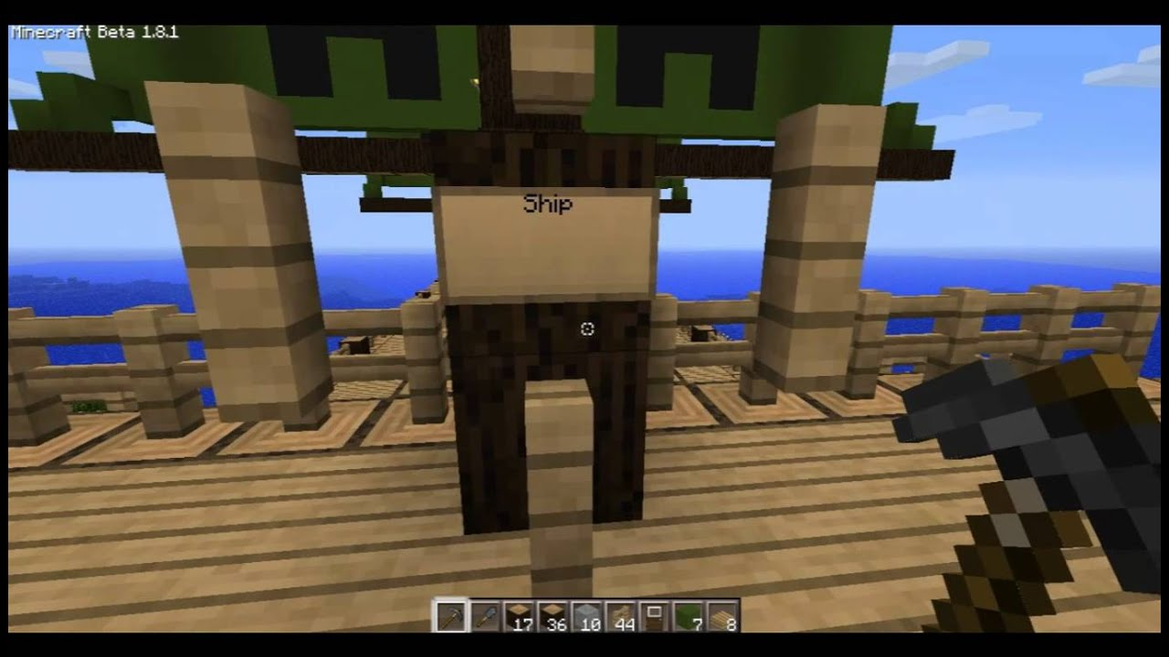 Minecraft Ship Black Pearl by Revhial on DeviantArt