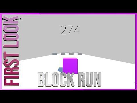 First Look New Game Block Run Gameplay