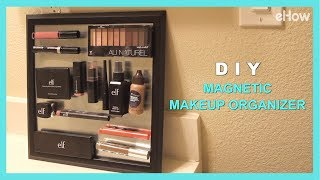 DIY Magnetic Makeup Organizer | DIY IRL