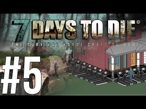 7 Days to Die - ปฏิบัติการปิดบ้านป้องกัน! - Alpha - (5) Co-op w/Malternative