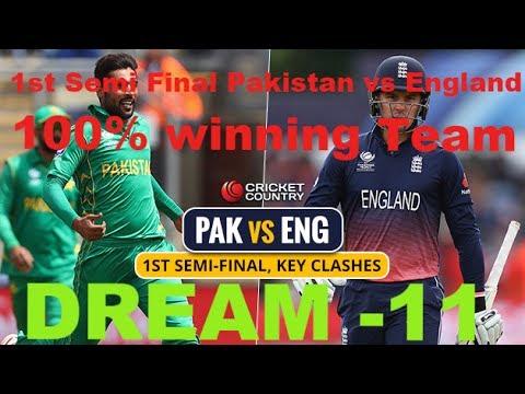 England v Pakistan: ICC Champions Trophy semi-final  live!