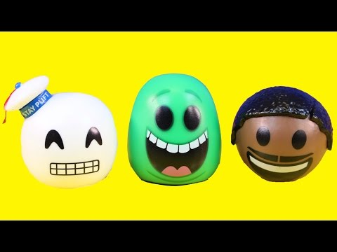 Ghostbusters Mymoji Surprise Blind Bag Opening With Slimer